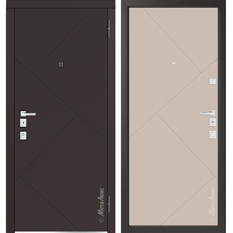 Входная дверь Металюкс М1100/1 коллекция Милано