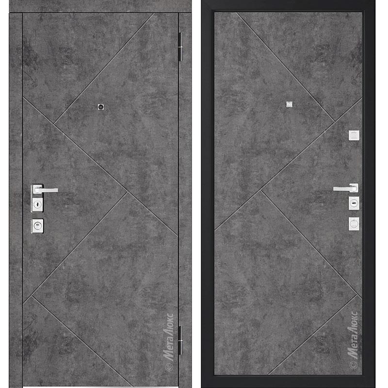 Входная дверь Металюкс М1100/12 коллекция Милано