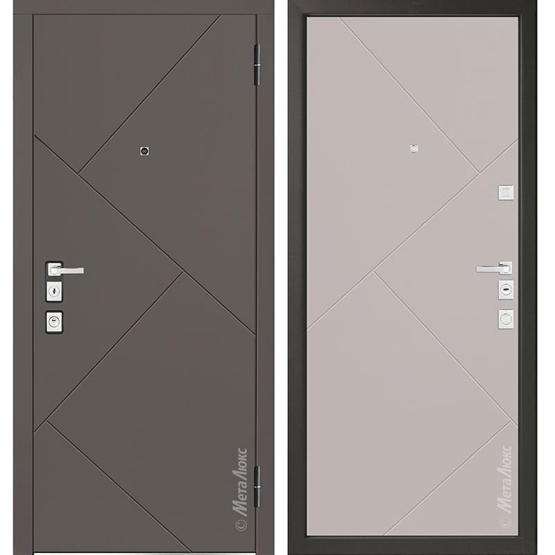 Входная дверь Металюкс М1100/7 коллекция Милано