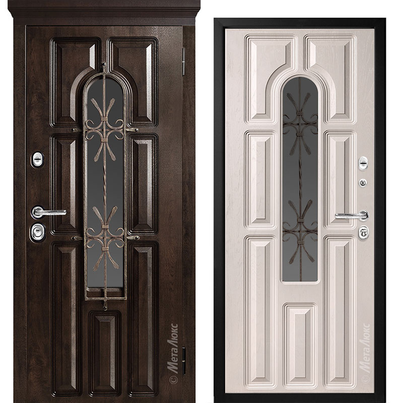 Входная дверь Металюкс СМ60/2 коллекция Элит