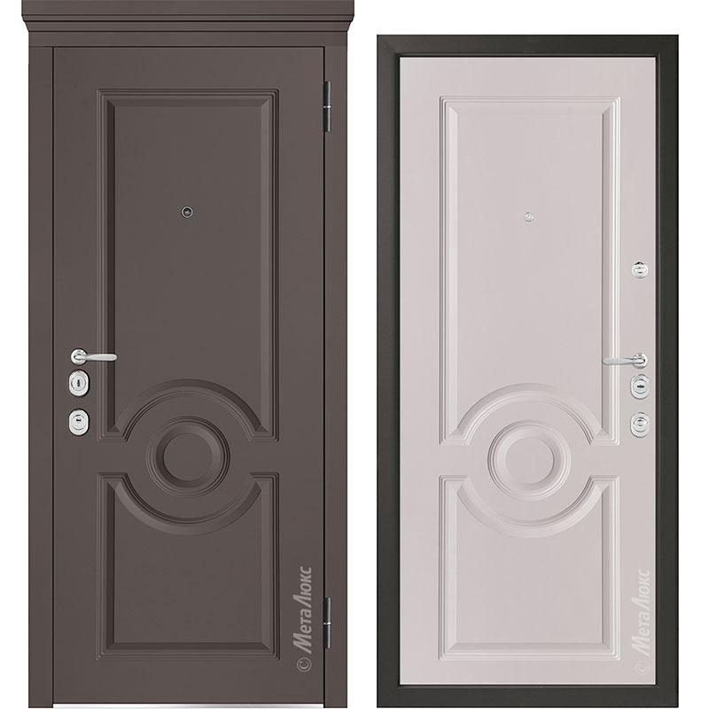 Входная дверь Металюкс М1000/10 Е коллекция Милано