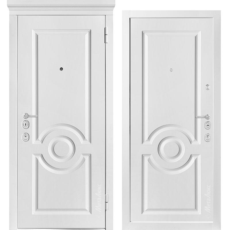 Входная дверь Металюкс М1000/7 Е коллекция Милано