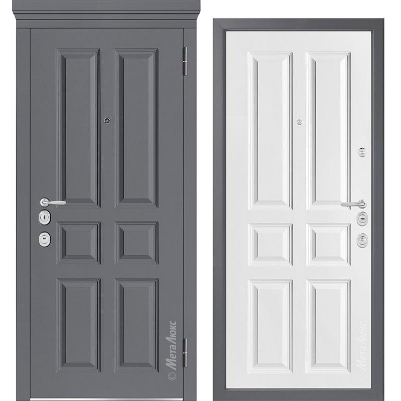 Входная дверь Металюкс М1001/5 Е коллекция Милано