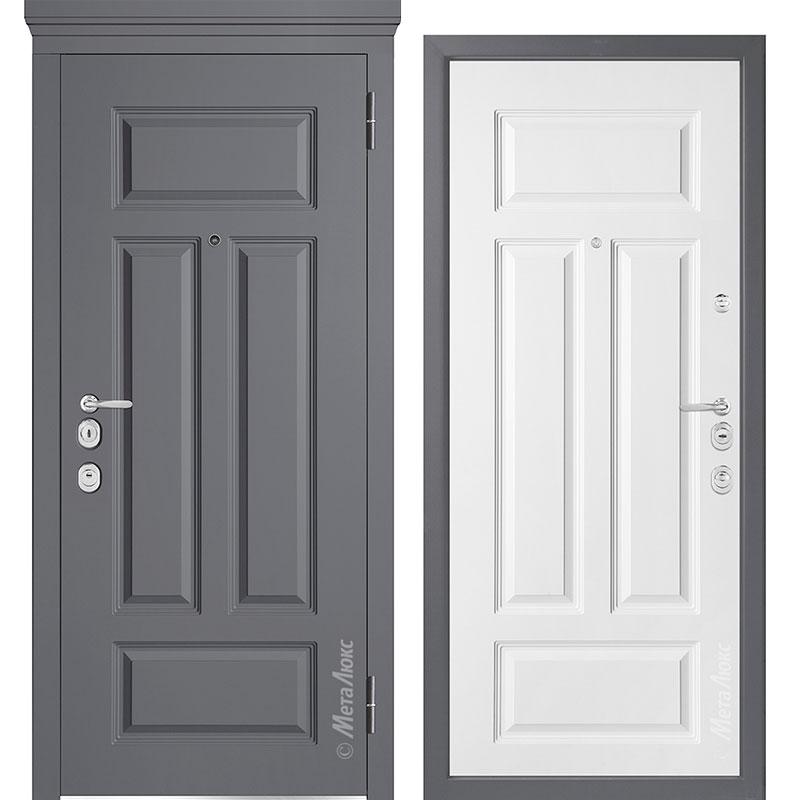 Входная дверь Металюкс М1002/5 Е коллекция Милано