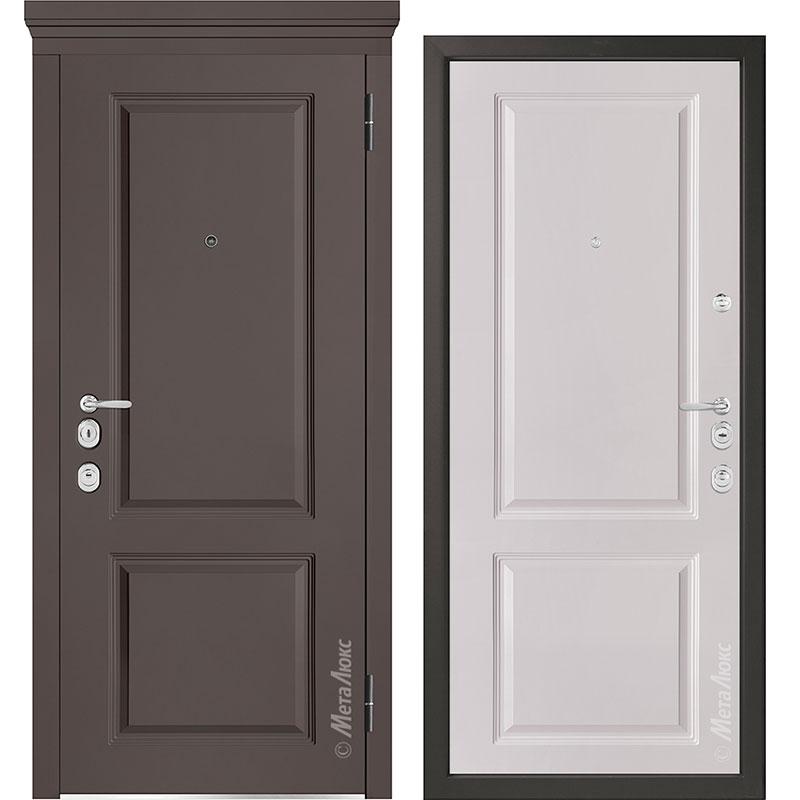Входная дверь Металюкс М1003/10 Е коллекция Милано
