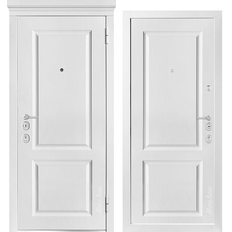 Входная дверь Металюкс М1003/7 Е коллекция Милано
