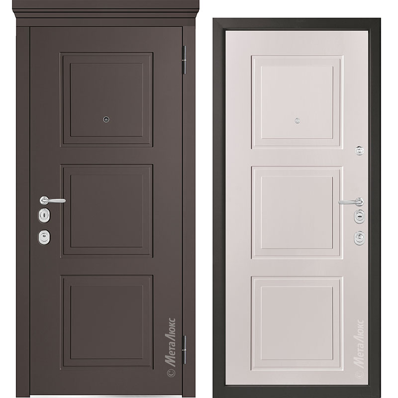 Входная дверь Металюкс М1010/10 Е коллекция Милано