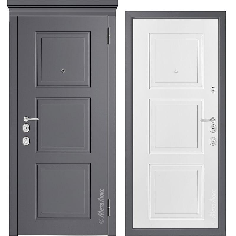 Входная дверь Металюкс М1010/5 Е коллекция Милано
