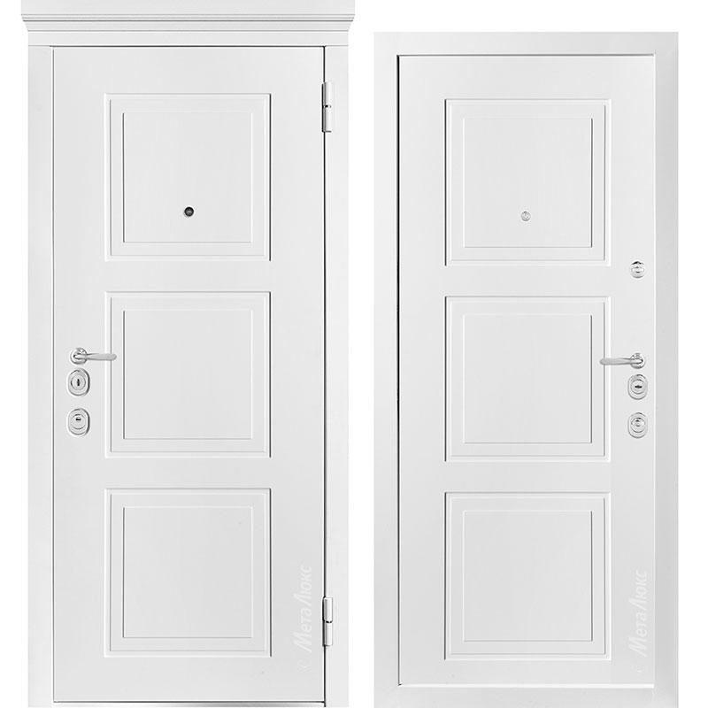 Входная дверь Металюкс М1010/7 Е коллекция Милано