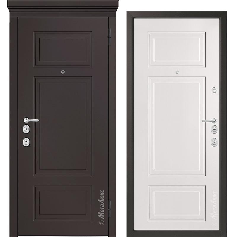 Входная дверь Металюкс М1011/1 Е коллекция Милано