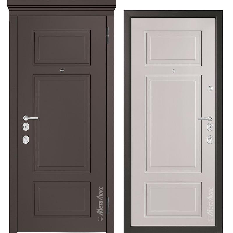 Входная дверь Металюкс М1011/10 Е коллекция Милано