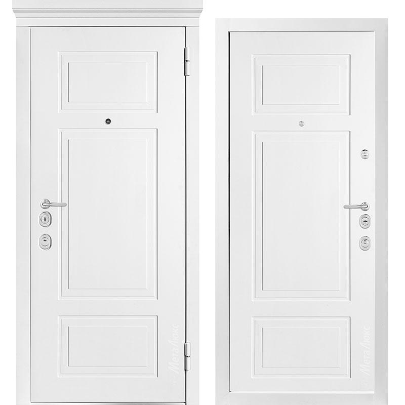 Входная дверь Металюкс М1011/7 Е коллекция Милано