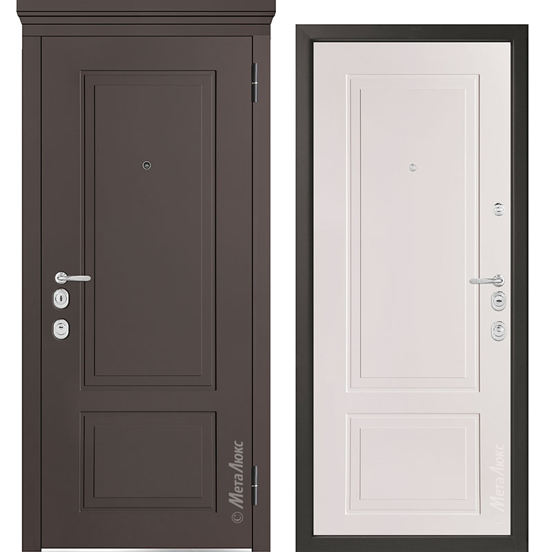 Входная дверь Металюкс М1013/10 Е коллекция Милано