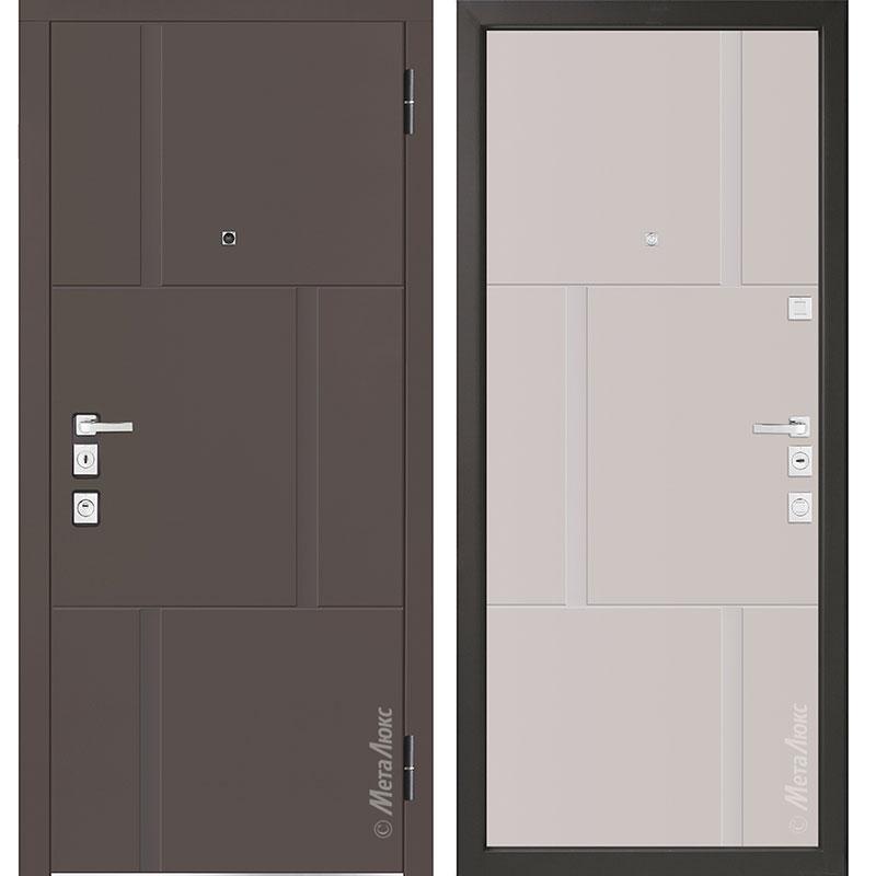Входная дверь Металюкс М1103/10 Е коллекция Милано