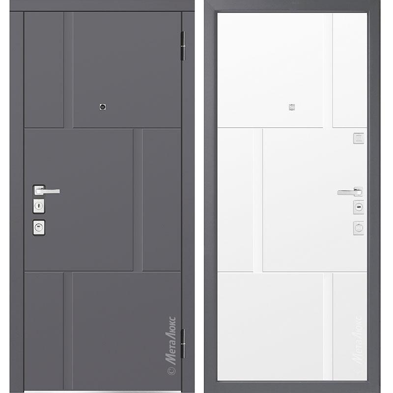 Входная дверь Металюкс М1103/5 Е коллекция Милано