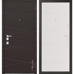 Входная дверь Металюкс М1104/1 Е коллекция Милано