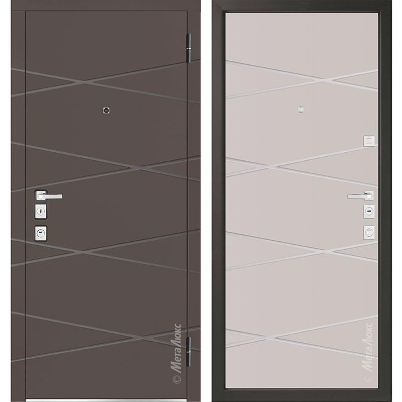 Входная дверь Металюкс М1104/10 Е коллекция Милано