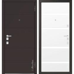 Входная дверь Металюкс М1300 коллекция Милано