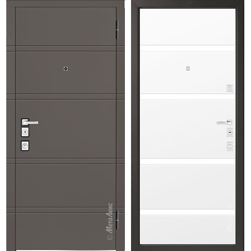 Входная дверь Металюкс М1300/4 коллекция Милано