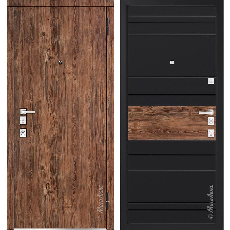 Входная дверь Металюкс М1400/2 коллекция Милано
