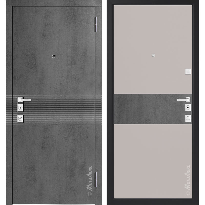 Входная дверь Металюкс М1401/2 коллекция Милано