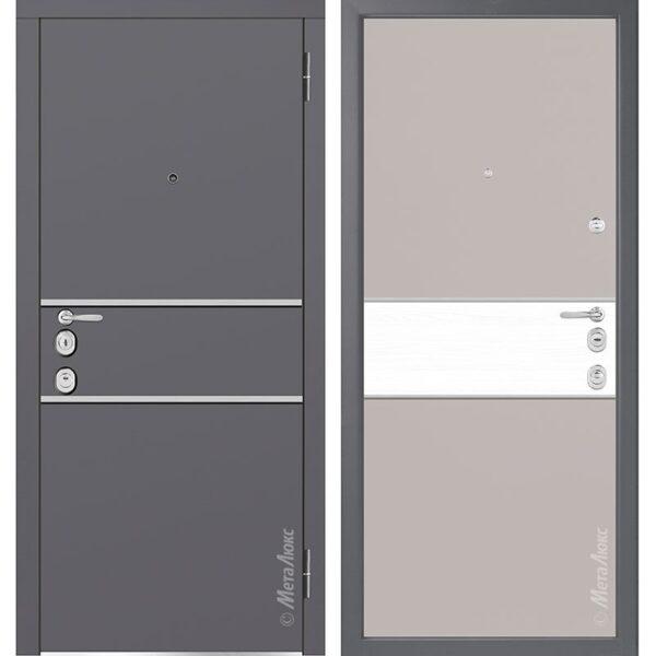 Входная дверь Металюкс М1402/2 коллекция Милано