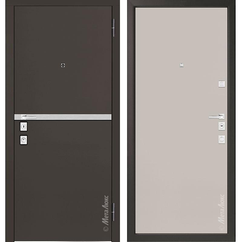 Входная дверь Металюкс М1404/1 коллекция Милано