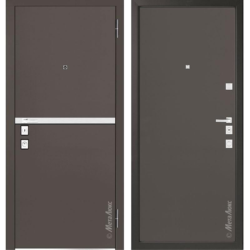 Входная дверь Металюкс М1404/6 коллекция Милано