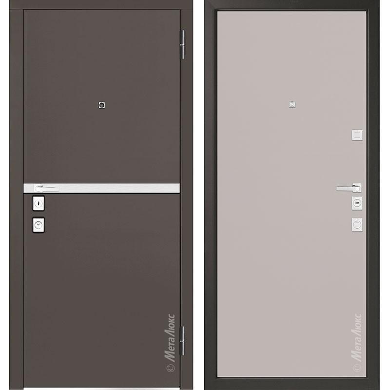 Входная дверь Металюкс М1404/7 коллекция Милано