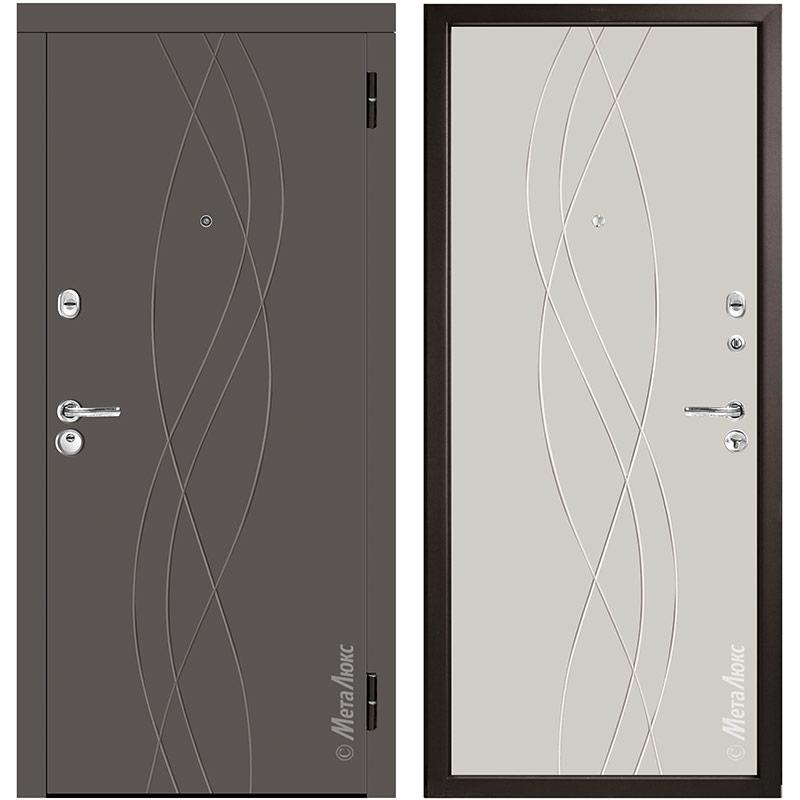 Входная дверь Металюкс М56/3 коллекция Триумф