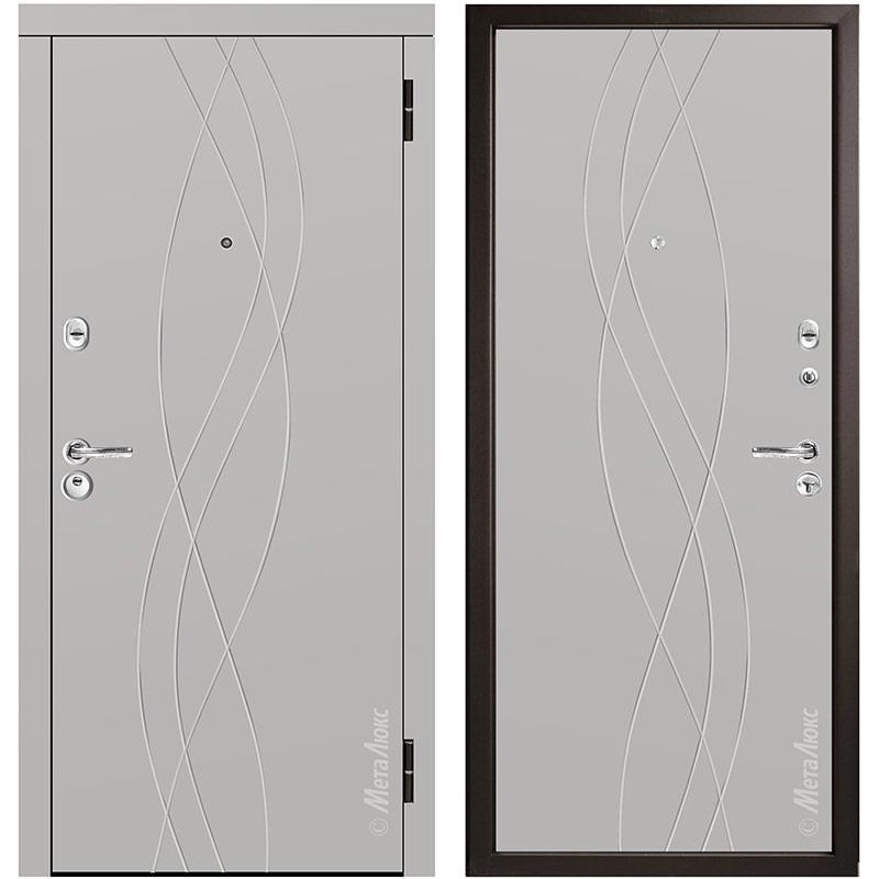 Входная дверь Металюкс М56/4 коллекция Триумф