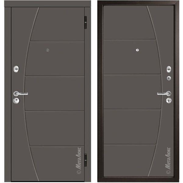 Входная дверь Металюкс М58/2 коллекция Триумф