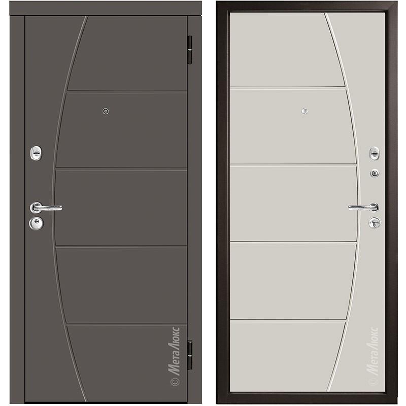 Входная дверь Металюкс М58/3 коллекция Триумф
