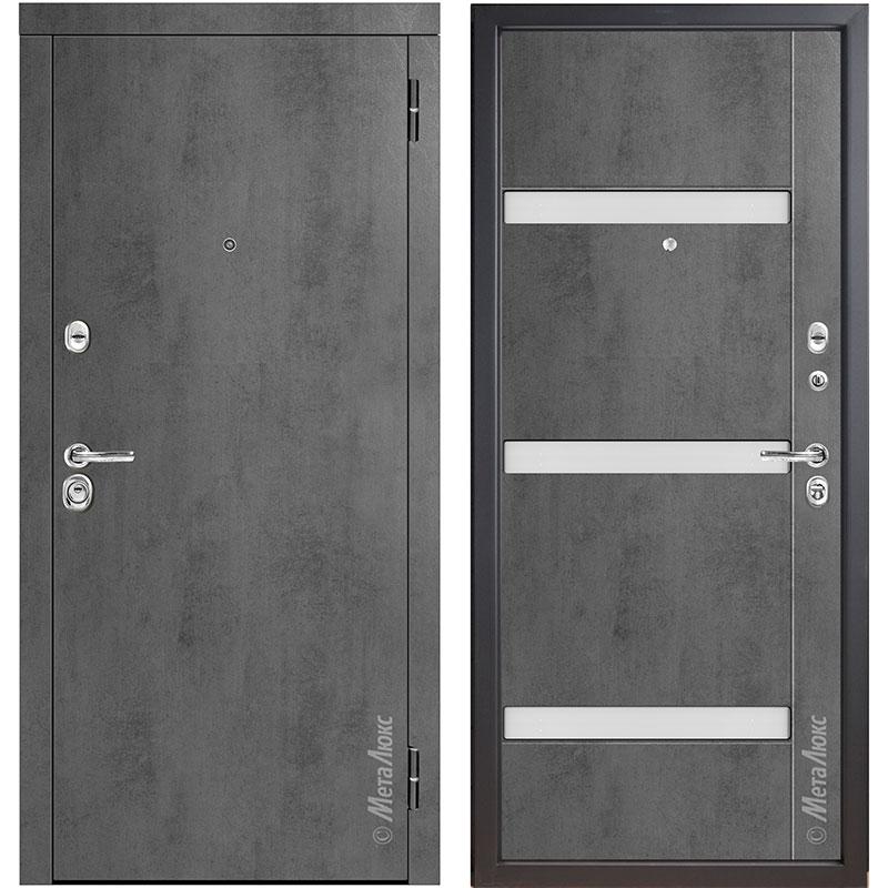 Входная дверь Металюкс М70/3 коллекция Элит