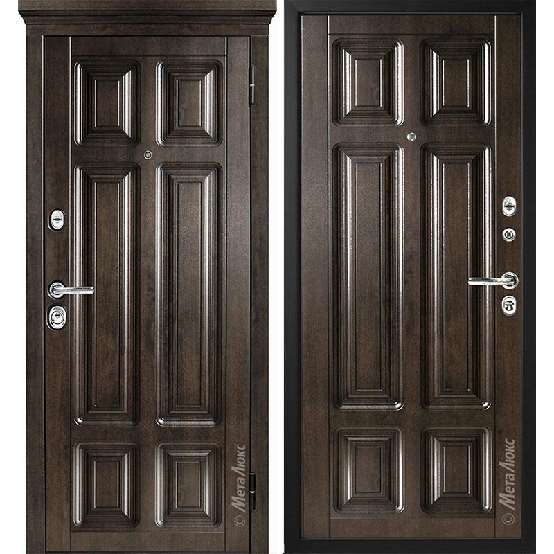 Входная дверь Металюкс М706/2 коллекция Статус