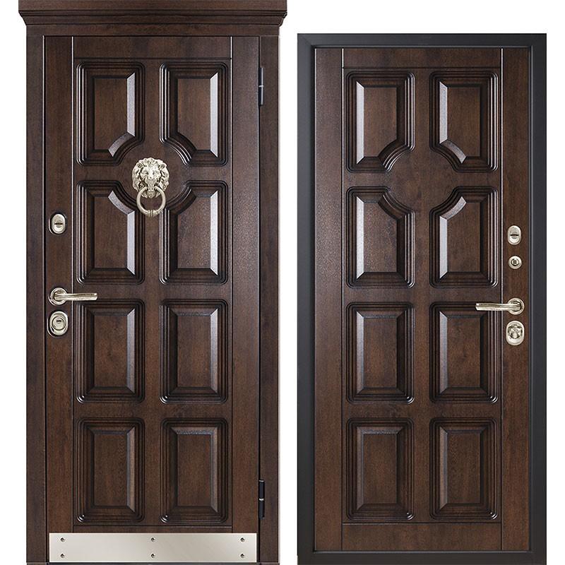 Входная дверь Металюкс М707/2 коллекция Статус