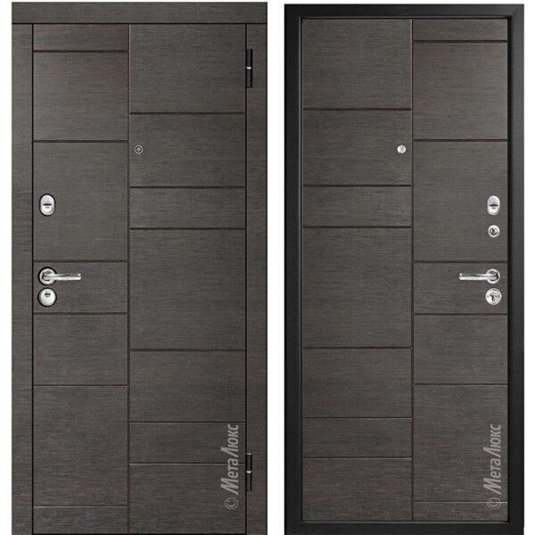 Входная дверь Металюкс М91/2 коллекция Триумф