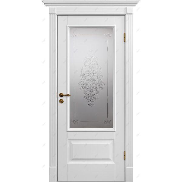 Межкомнатная дверь Авалон-12 лувр Эмаль коллекция Авалон