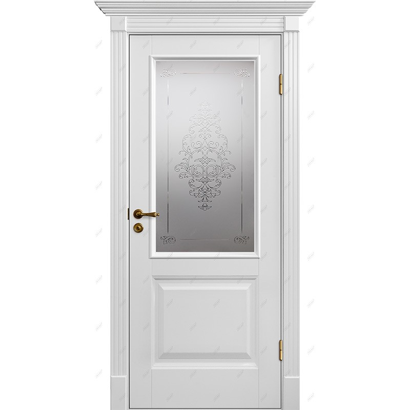 Межкомнатная дверь Авалон-4 лувр Эмаль коллекция Авалон