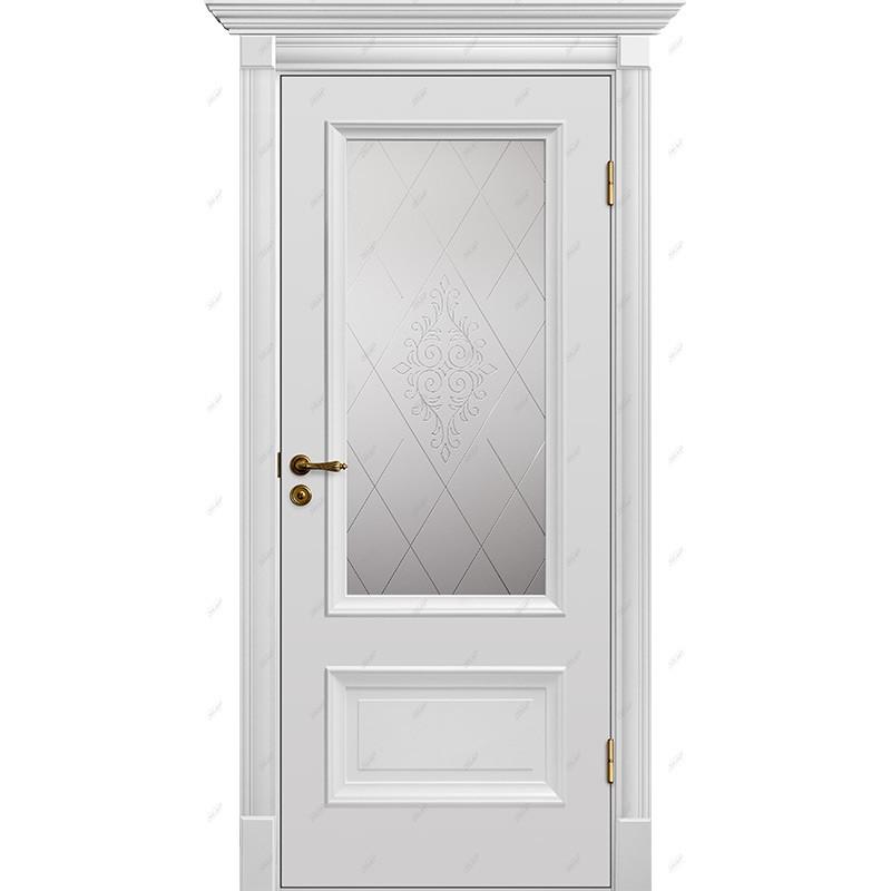 Межкомнатная дверь Барокко-12 Эмаль коллекция Барокко