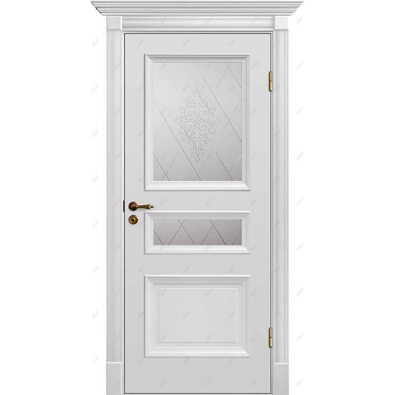 Межкомнатная дверь Барокко-8 Эмаль коллекция Барокко