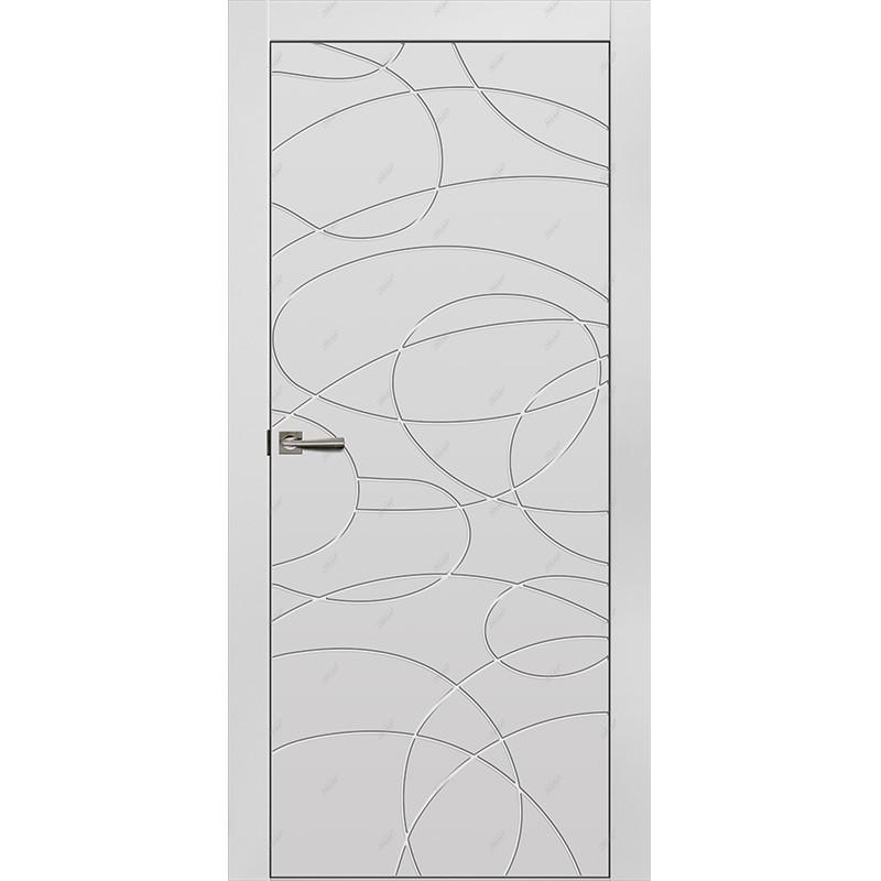 Межкомнатная дверь Граффити-9 Эмаль коллекция Граффити