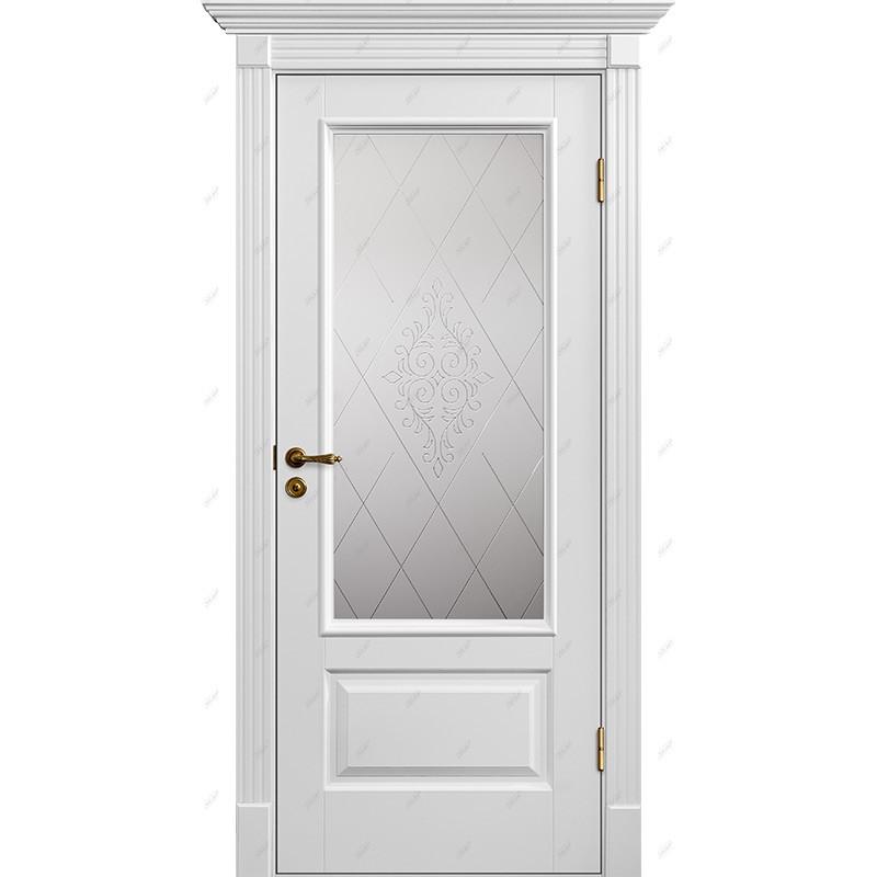 Межкомнатная дверь Классик-12 Версаль Эмаль коллекция Классик