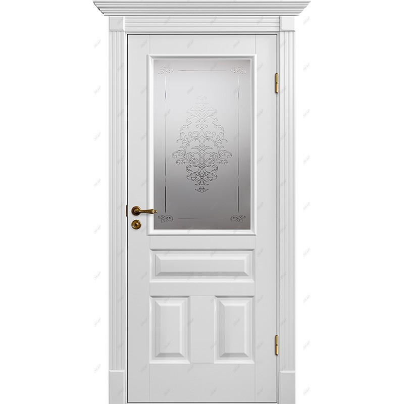 Межкомнатная дверь Классик-16 Лувр Эмаль коллекция Классик