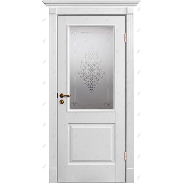 Межкомнатная дверь Классик-4 Лувр Эмаль коллекция Классик