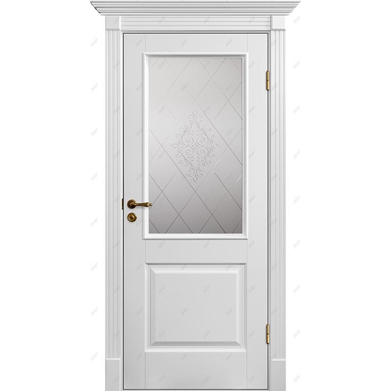 Межкомнатная дверь Классик-4 Версаль Эмаль коллекция Классик