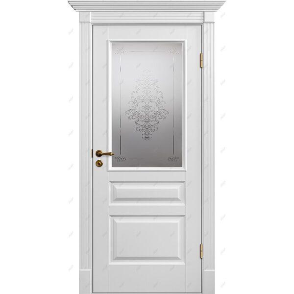 Межкомнатная дверь Классик-8 Лувр Эмаль коллекция Классик