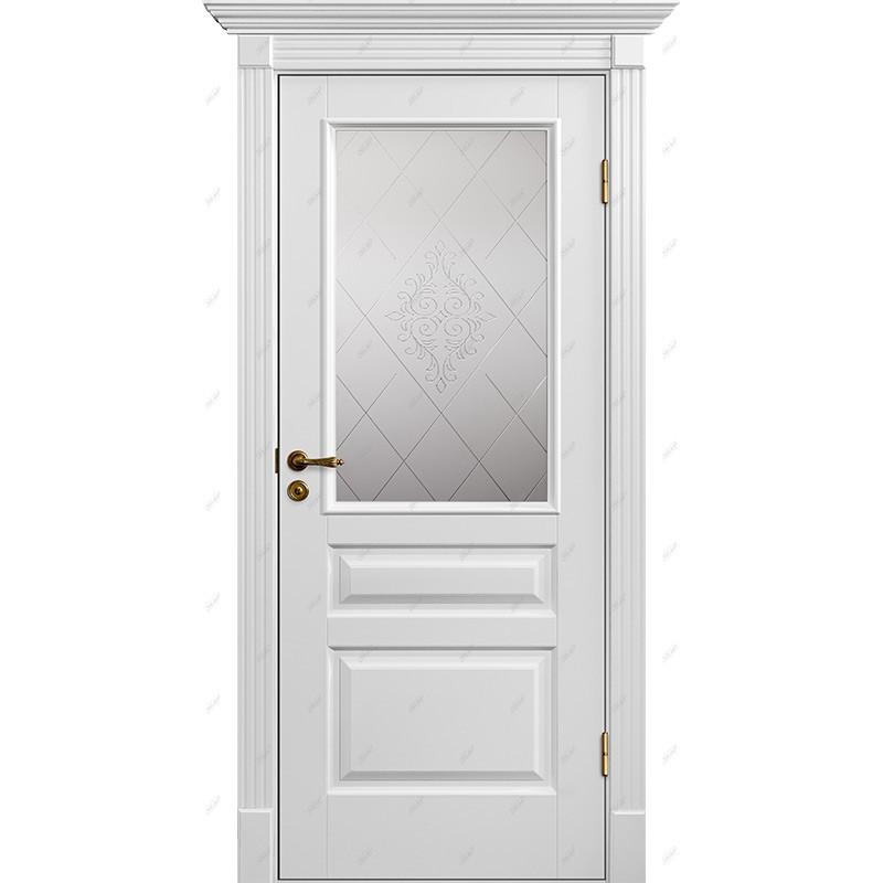 Межкомнатная дверь Классик-8 Версаль Эмаль коллекция Классик