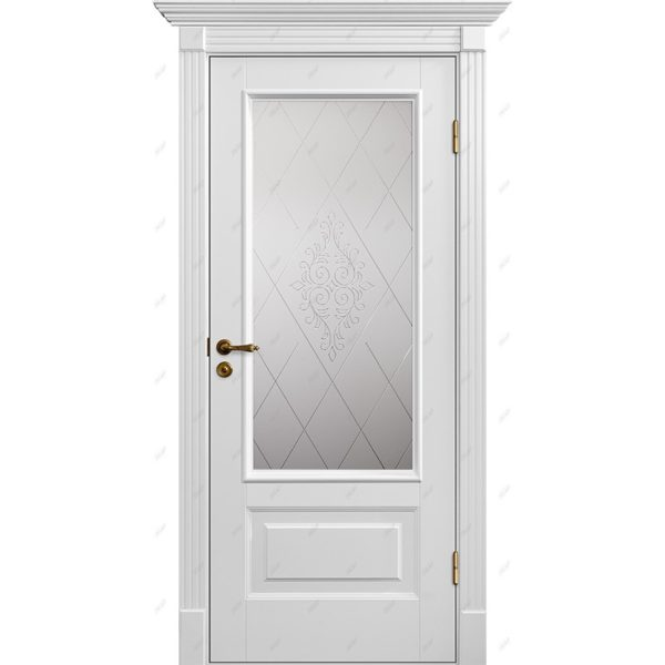 Межкомнатная дверь Палацио-12 Версаль Эмаль коллекция Палацио