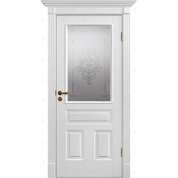 Межкомнатная дверь Палацио-16 luvr Эмаль коллекция Палацио